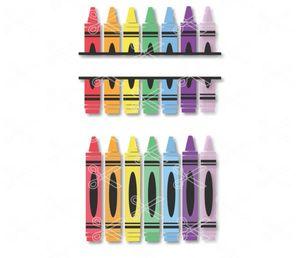 Crayons-Crayon-SVG-DXF