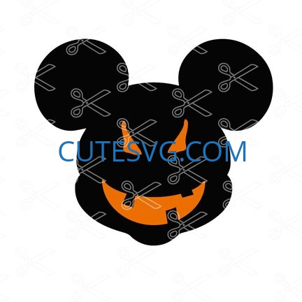Mickey Halloween Svg And Dxf Cut Files Cute Svg Files
