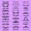 Swirls SVG and DXF Cut File