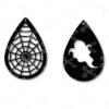 Tear Drop Earrings SVG and DXF Cut Files