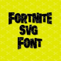 fortnite svg font