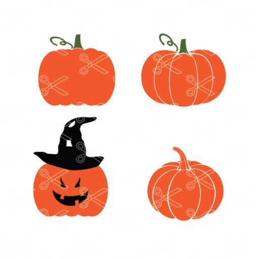 Free Pumpkin SVG Cut File