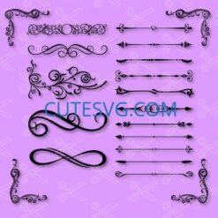decorative divider svg file