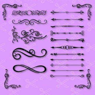 decorative divider svg file