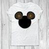 Disney Mickey Head Spider web T-shirt Design SVG and DXF