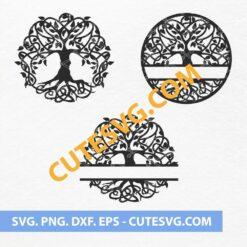 Tree of life SVG Cut files