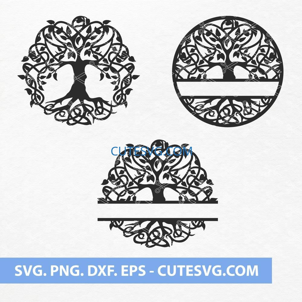 Tree of life SVG Cut files