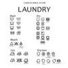 Laundry symbols svg png dxf