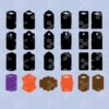 Earring Display Cards SVG and DXF Cut files