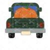 Fall Pumpkin Pick Up Truck Door Hanger SVG and DXF Cut files
