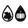 Fall tear drop earrings