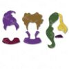 halloween hocus pocus heads svg and dxf cut files