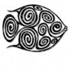 Fish Earings SVG and DXF cut files