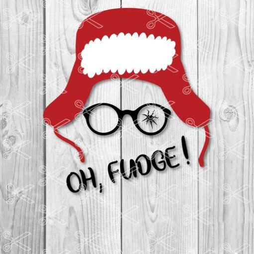 Download A Christmas Story- Ralphie Broken Glasses- Marvel Comics - Oh Fudge SVG and DXF Cut files and use it to your DIY project!