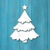 christmas tree dxf svg cut files