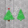 Free Christmas Tree Svg Cut File