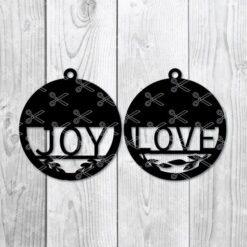 Round Earring SVG