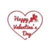 valentine svg cut file