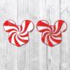 Mickey candy svg