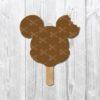 Mickey ice cream svg