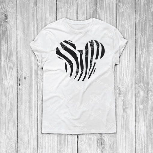 mickey zebra svg