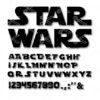 Star Wars Alphabet Svg
