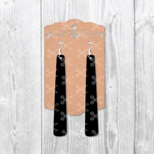 Stripe Earrings SVG