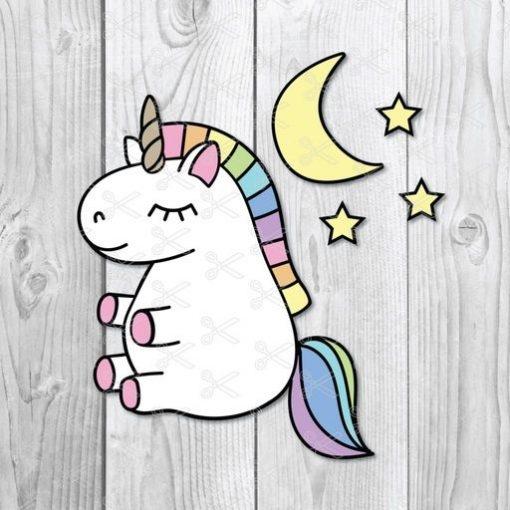 Baby Unicorn SVG