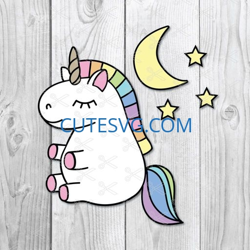 Baby Unicorn SVG
