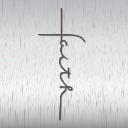 Faith Cross SVG