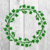 Flowers Wreath SVG
