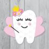 Tooth fairy svg