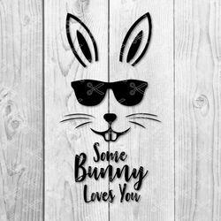 easter bunny svg