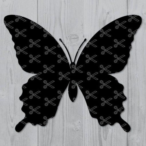butterfly svg cut file