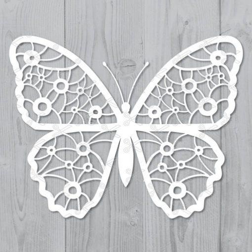 butterfly svg dxf cut file