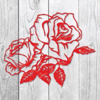 rose svg