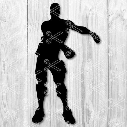 Fortnite Floss Dance Emote SVG