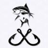Fishing Hook SVG