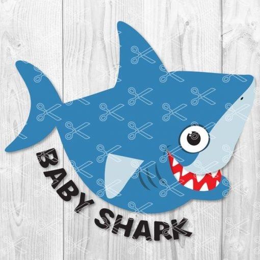 baby shark svg