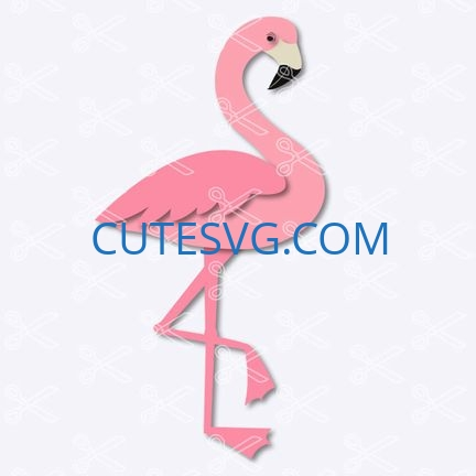 flamingo svg file