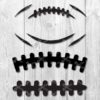 football outline svg
