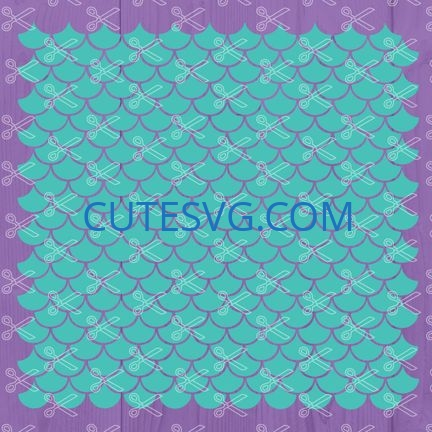mermaid scales svg file
