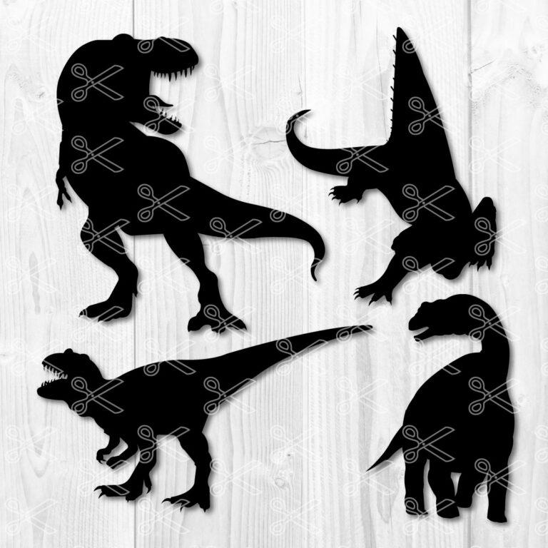 trex dinosaur svg