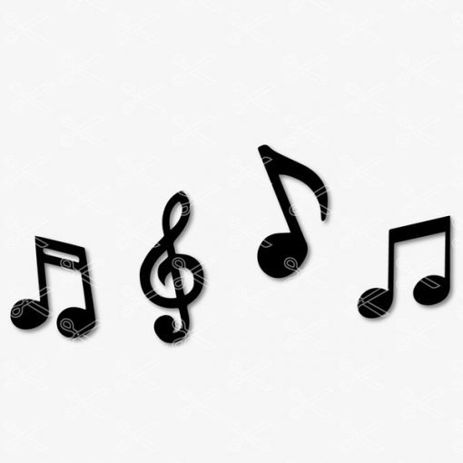 Music Notes SVG file