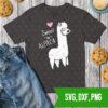 Sweet as alpaca SVG DXF PNG Cut files