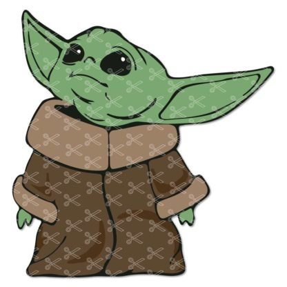 Baby Yoda Svg Free