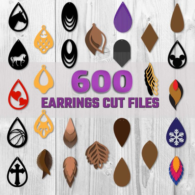 Huge Earring SVG Bundle