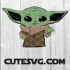 FREE Baby Yoda SVG, DXF, PNG, Eps - Baby Yoda Cut Files