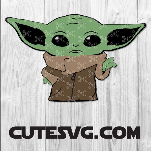 FREE Baby Yoda SVG Cut Files