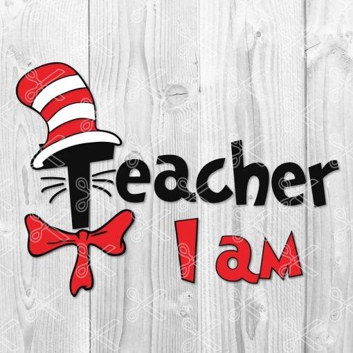 Teacher i am SVG